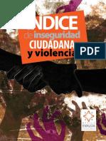 indice de inseguridad ciudadana y violencia