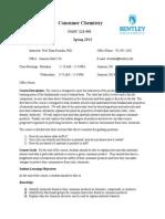 Syllabus-Consumer Chemistry - NASC 121.docx