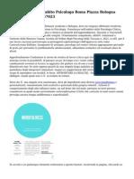 Antonia Laura Morabito Psicologo Roma Piazza Bologna 00162 Tel 320. 6767023