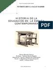 Historiadelaeducacionenlaespaacontemporanea 120514152827 Phpapp01(1)