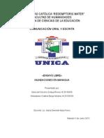INUNDACIONES EN MANAGUA