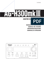 Teac Ag-h2300 Mk3 Manual