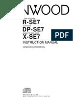 Kenwood SE7 Manual