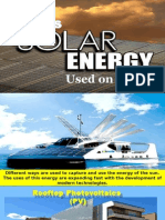 How is Solar Energy Used on Earth