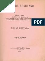 Folklore Araucano