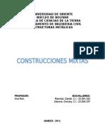 Construcciones Mixtas. Daniel Ramirez. Osmary Zamora