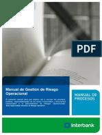 Manual de Gestion de Riesgo Operacional