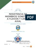 Resistencia de Miembros Sometidos a Flexion y Carga Axial