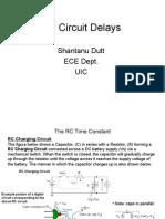 RC Circuit Delay