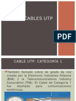 Cables UTP