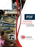 Rapport Activite Galia 2008