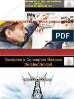 Clase I - Instalaciones Electricas Domiciliarias