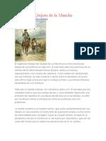 Ensayo Del Quijote de La macha