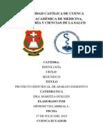 APARATO DIGESTIVO Histologia Proyecto