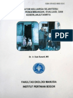 Dr. Euis Sunarti Indikator Keluarga Sejahtera