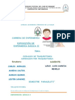 CUIDADOS DE TRAQUEOTOMIA ASPIRACION POR TRAQUEOTOMIA