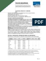 MSDS-ELECTRODO REVESTIDO