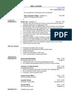 Jobswire.com Resume of raustin55