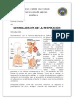 Generalidades de La Respiracion