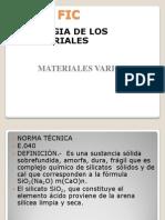 Materiales Varios 2015