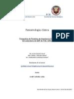 Practicas de Laboratorio Parasitologia Clinica, FCB, UANL, QBP Dante