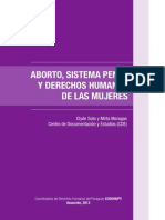 Aborto, Sistema Penal y DDHH de Las Mujeres[1]