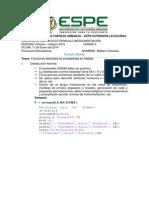 Funciones Densidada de Probabilidad Matlab