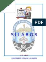 Modelo de Silabo Semipresencial 2015