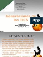 Generaciones de Las Tics Presentacion
