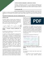 Obtención de Acetato de Isobutilo Mediante La Síntesis de Fischer