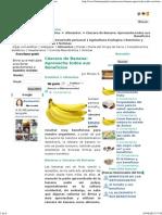 Cáscara de Banana Platano_piel Pequeñas Verrugas Potasio Etc Aprovecha Todos Sus Beneficios
