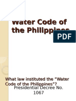NatRes Report_water Code