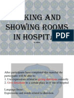 Asking and Showing Rooms in Hospital