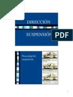 Direccion y Suspension