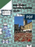 Boletín N° 16 Nodo Género y Políticas de Equidad
