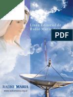 Linea Editorial radio maria