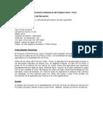 Descripcion de Las Estructuras Hidraulcas Del Sistema Chira