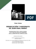 Weiss, Peter - Marat-Sade