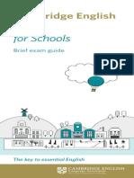 139171 Cambridge English Key for Schools Dl Leaflet