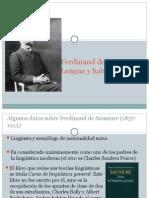 Saussure Lengua y Habla