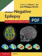 MRI-Negative Epilepsy Evaluation and Surgical Management