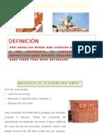 Albañilería Simple Clase