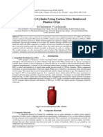 Analysis of LPG Cylinder Using Carbon Fiber Reinforced Plastics (Cfrp)