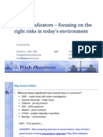 T4 - KRIs - Focusing on the Right Risks in Today_s Environment - RiskBusiness Americas (K. Gantt) Experis Finance (T. Diminich) 10-25-11.pdf