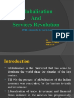 Globaliation and Services Revolution
