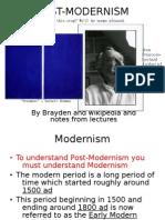 Postmodernism is Modern