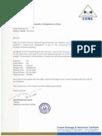 Visa Invitation Letter