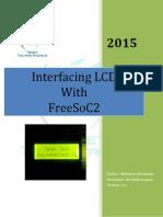 Interfacing LCD with FreeSoC2