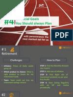 4 Financial Goals You Should Always Plan
