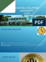 Central Philippine University (CPU)